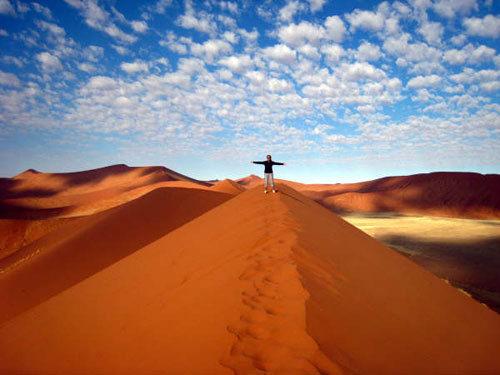 This needs to be me.  With a board under my arm.  The Sossusvlei in Namibia.