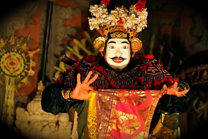 man dance bali indonesia