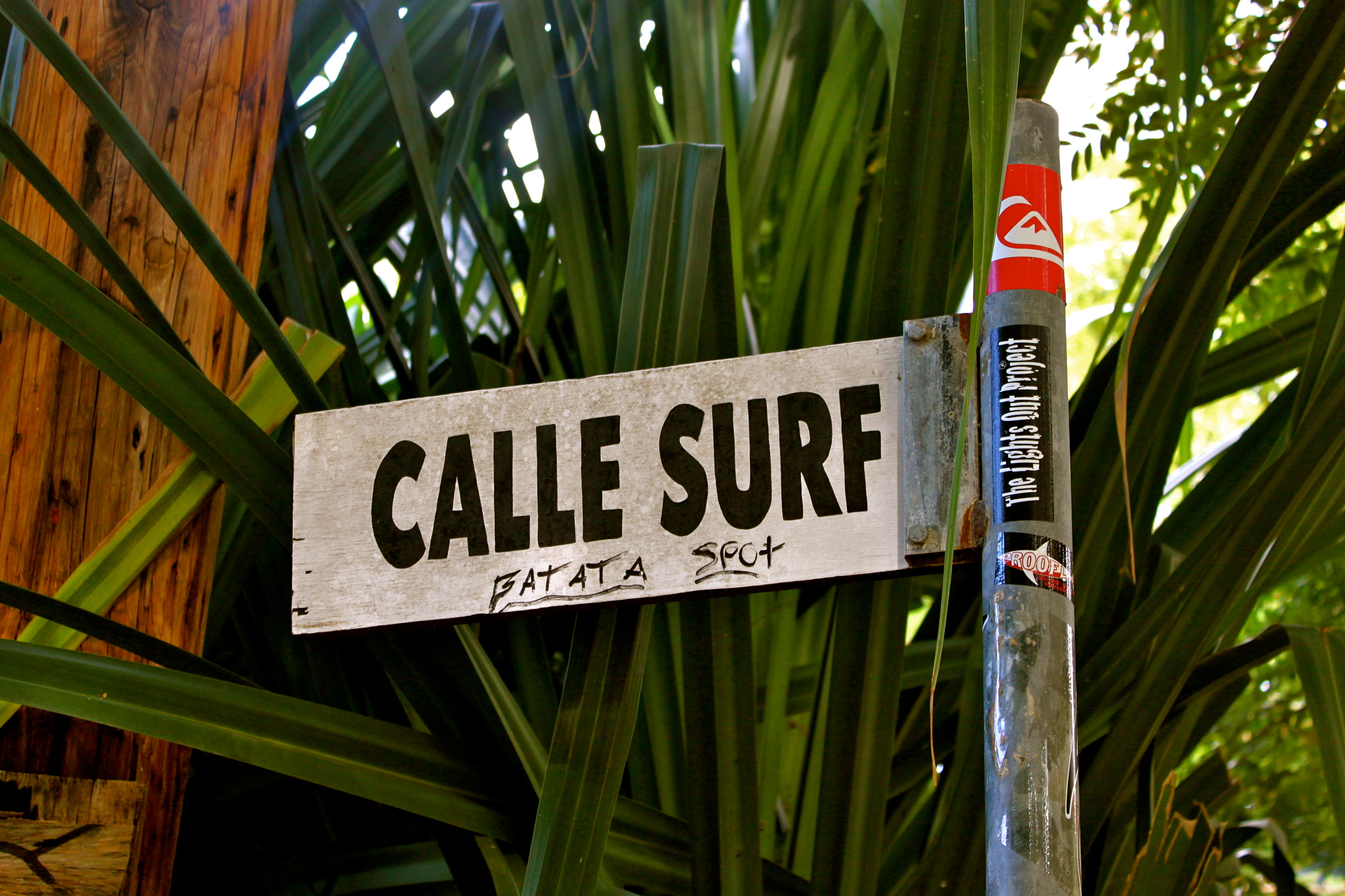 This street sign in Rincon kinda says it all.