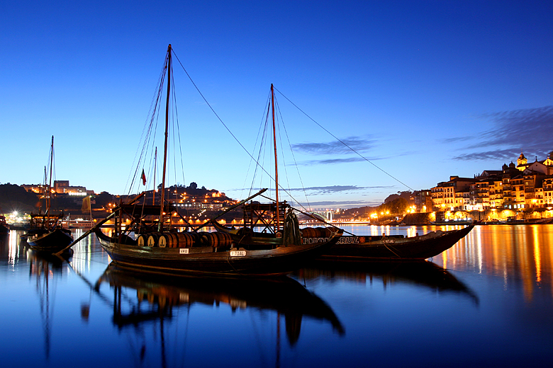 The harbor of Porto