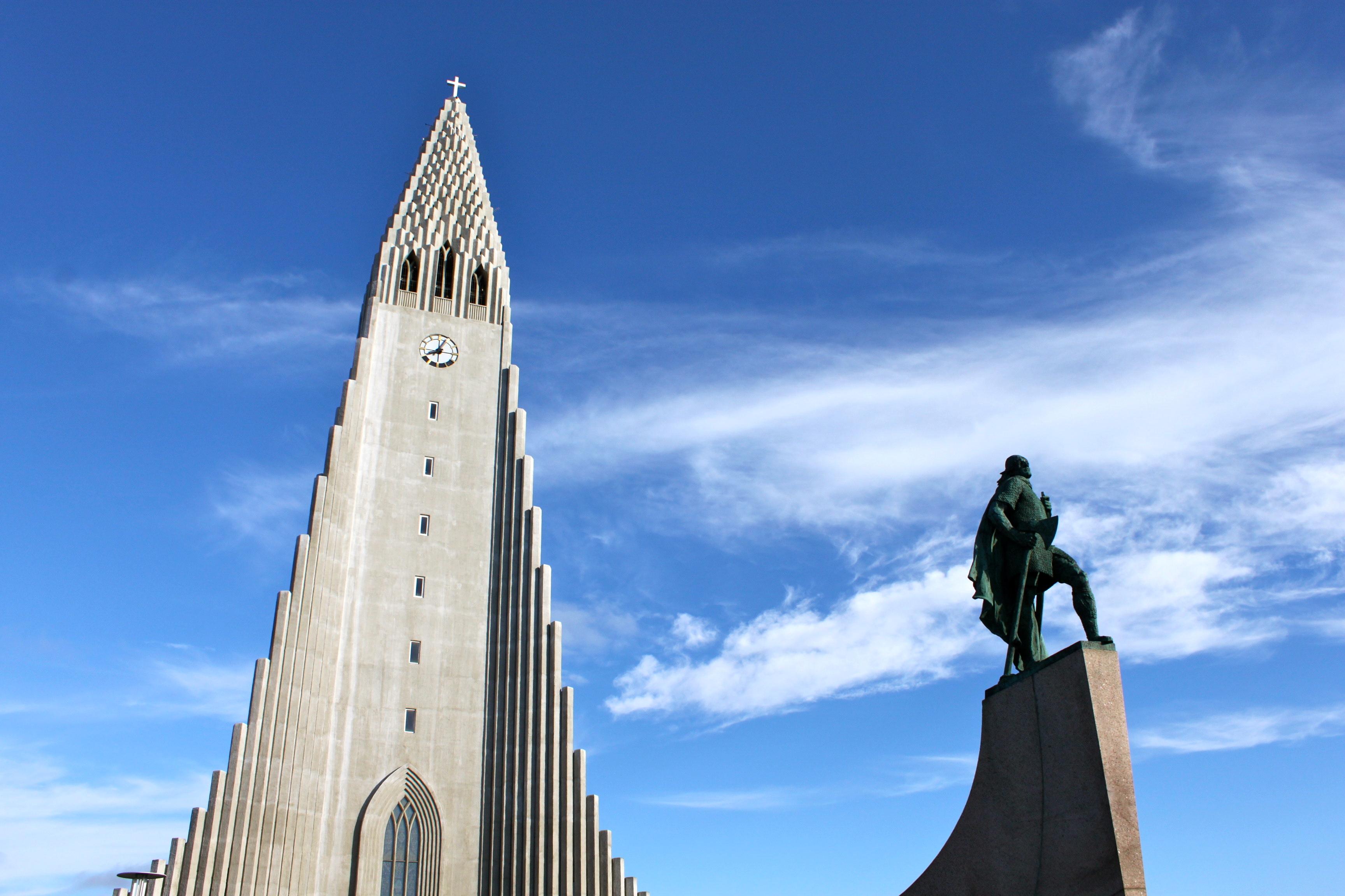 hallgrimskirkja reykjavik iceland