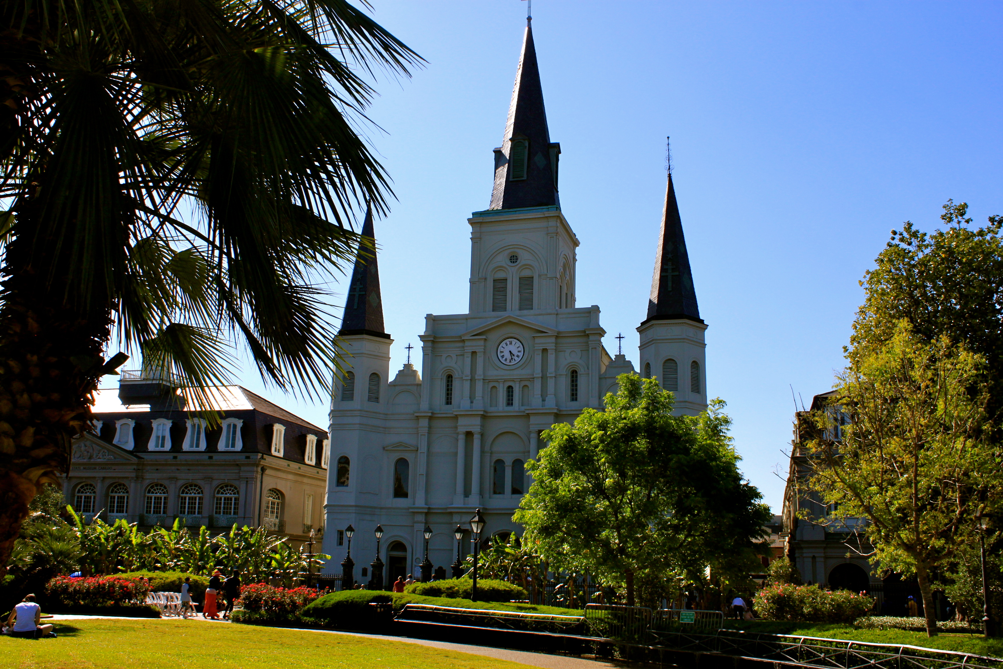 new orleans louisiana jackson square
