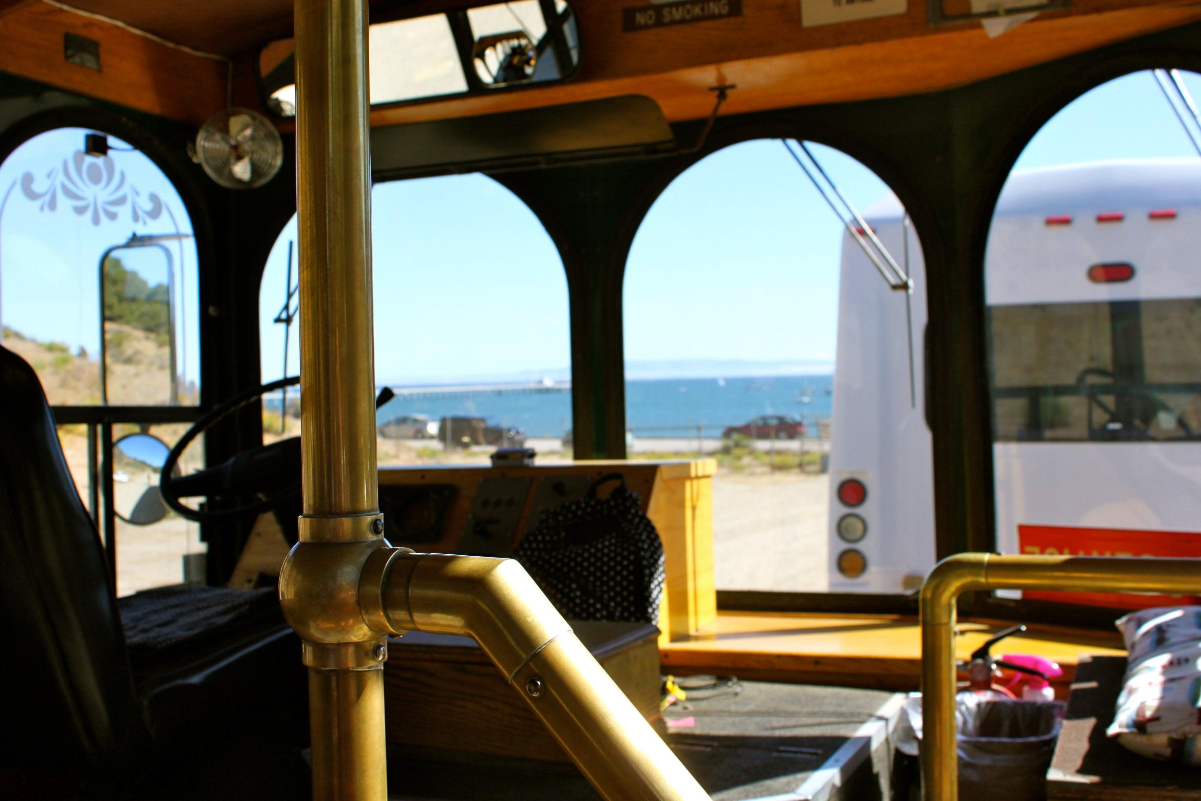 port san luis lighthouse trolley avila beach california
