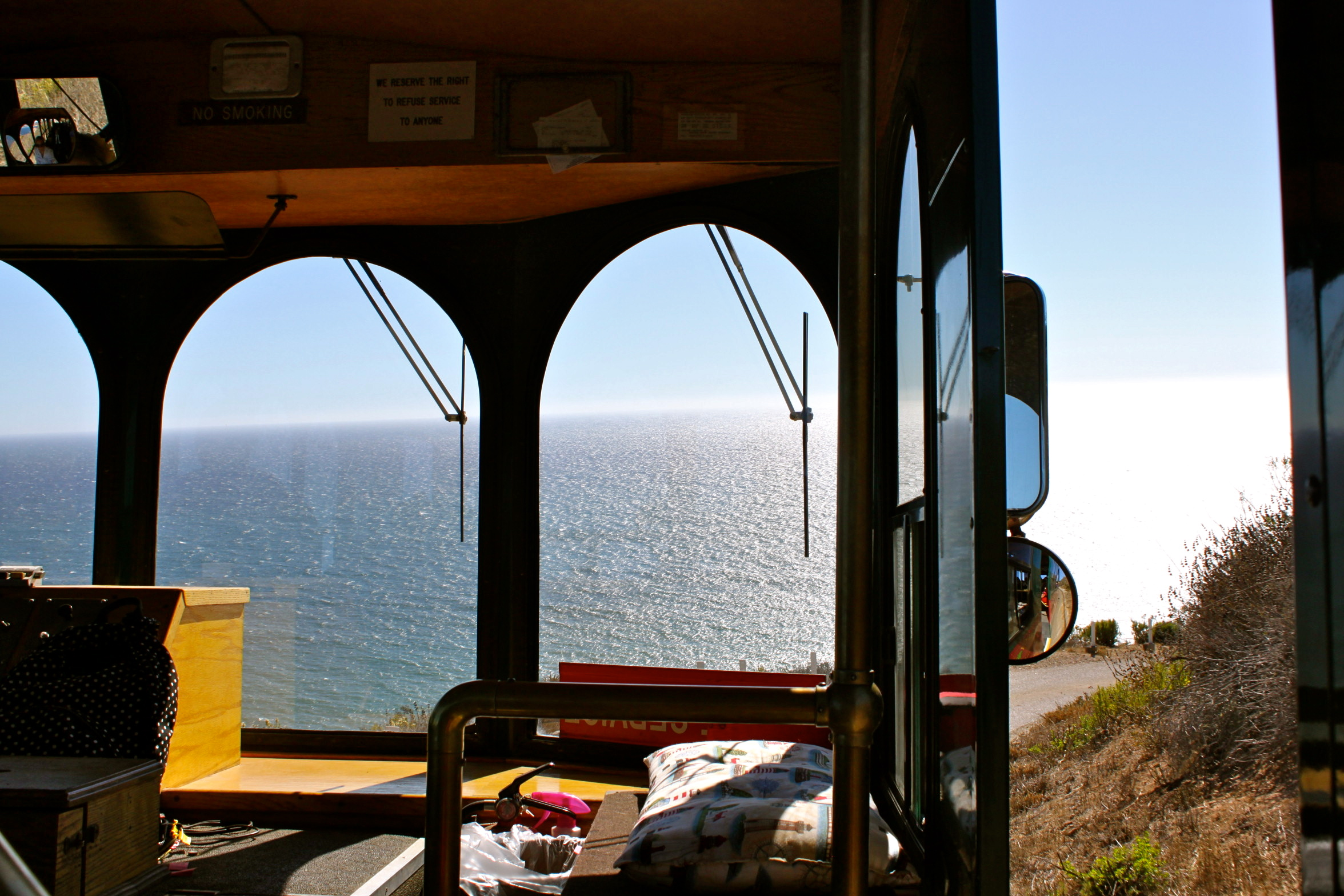 port san luis lighthouse trolley