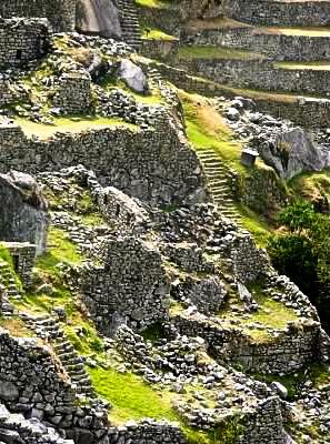 quarry machu picchu peru
