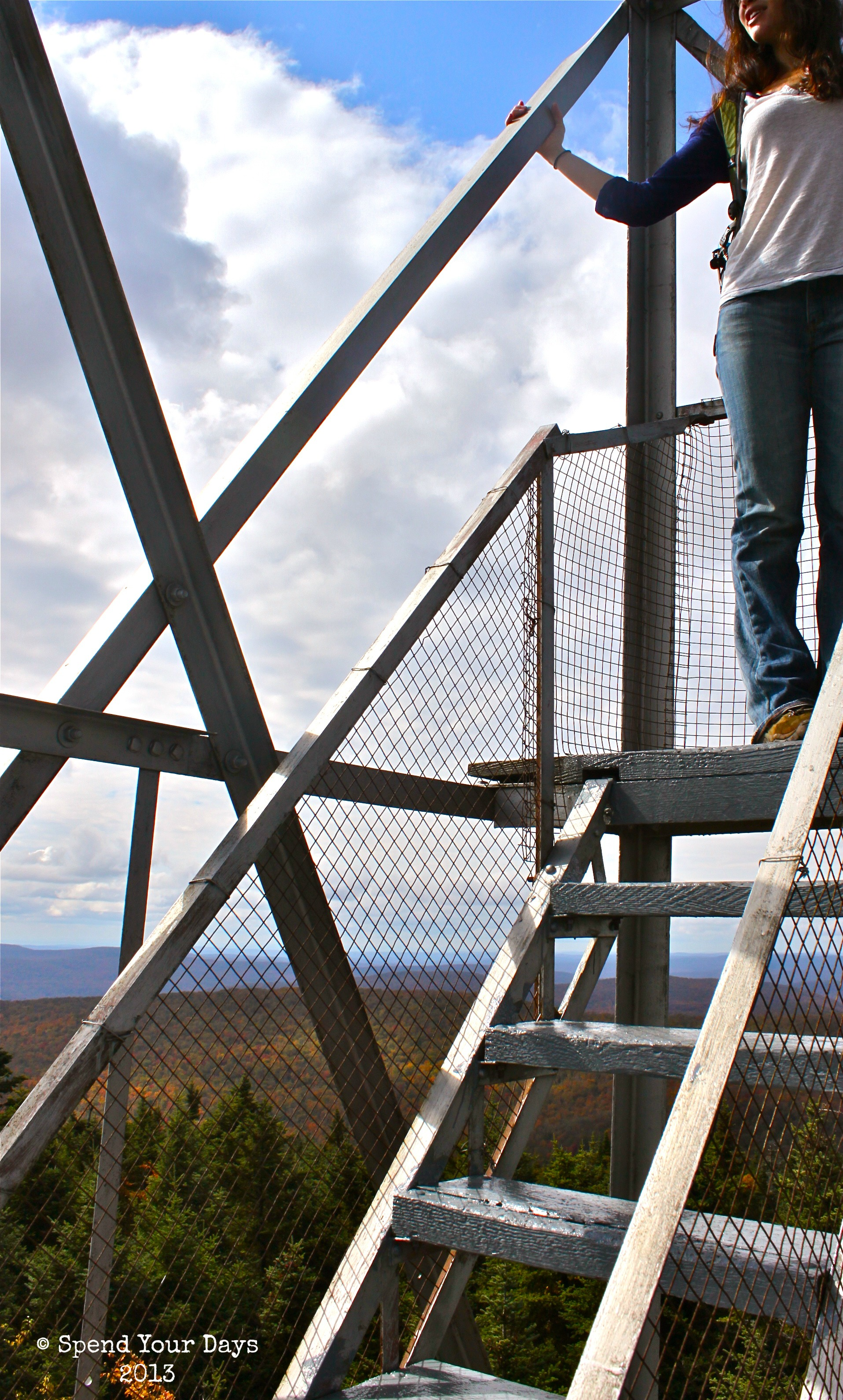balsam lake mountain fire tower ny
