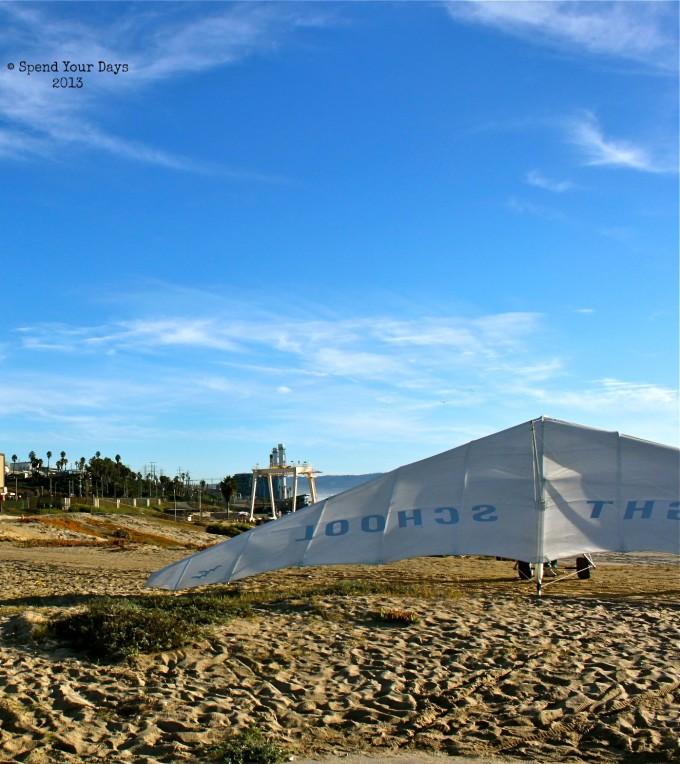 hang gliding los angeles california beach