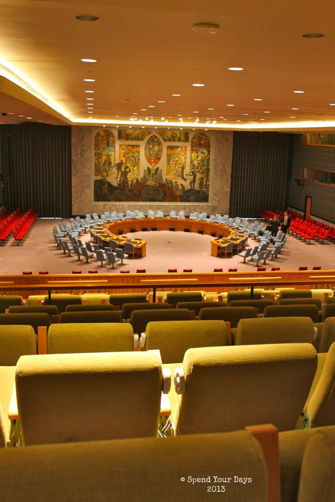United Nations Headquarters Security Council Room New York