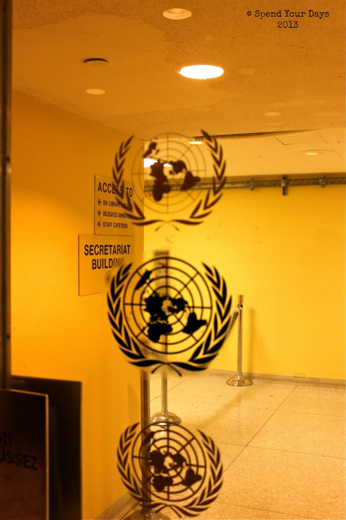 United Nations Headquarters Seal New York