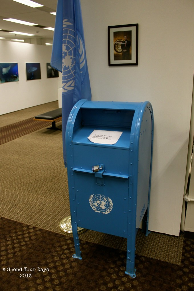 United Nations Headquarters Postage Stamp
