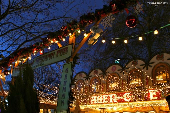 london uk england christmas market fair