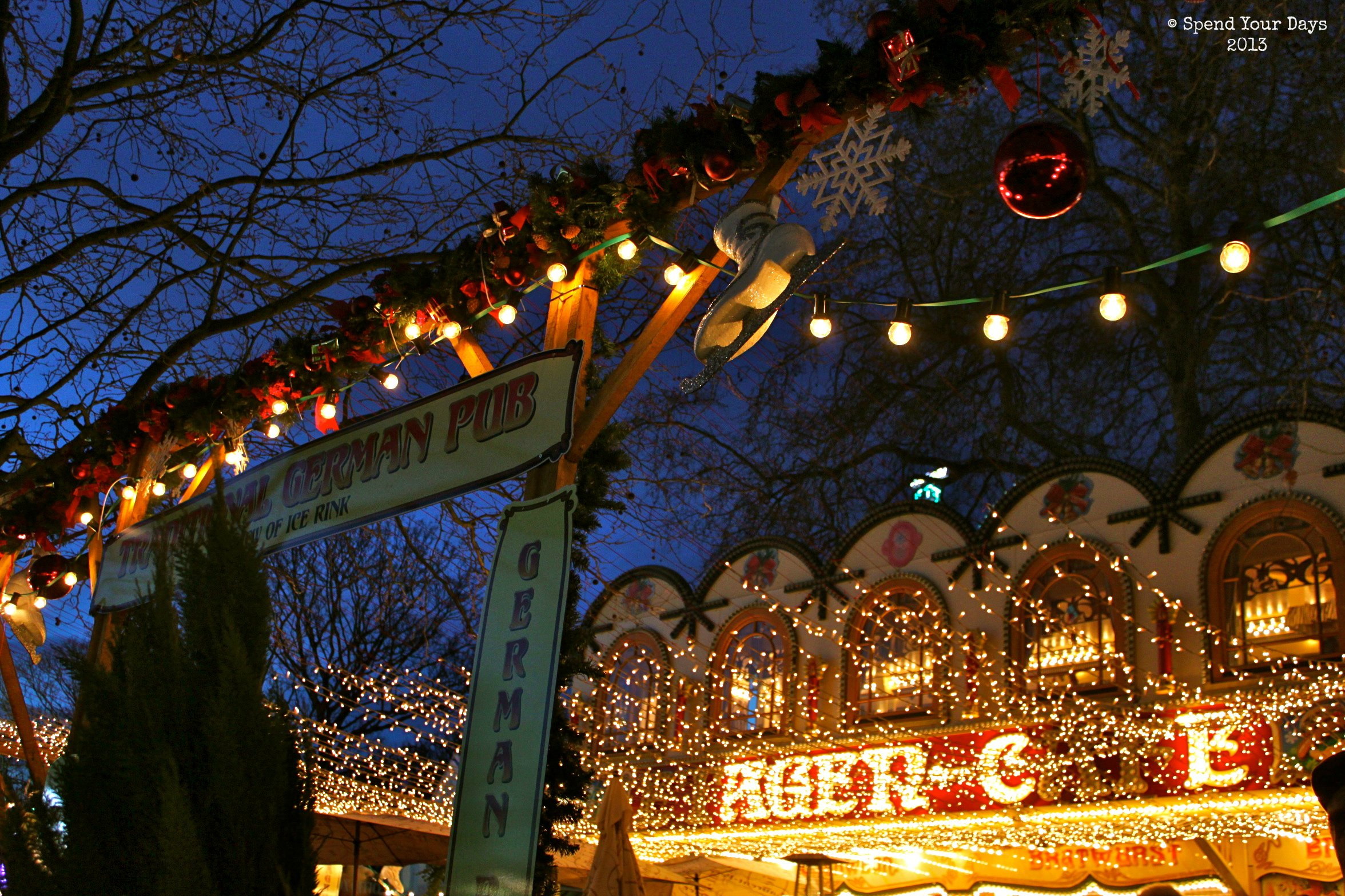 london uk england christmas market fair