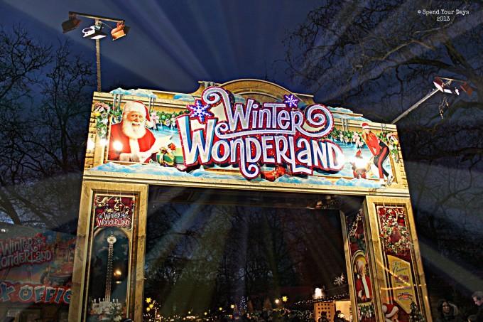 london uk england christmas market hyde park winter wonderland