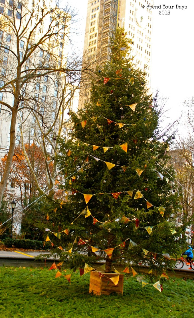 madison square park christmas tree new york