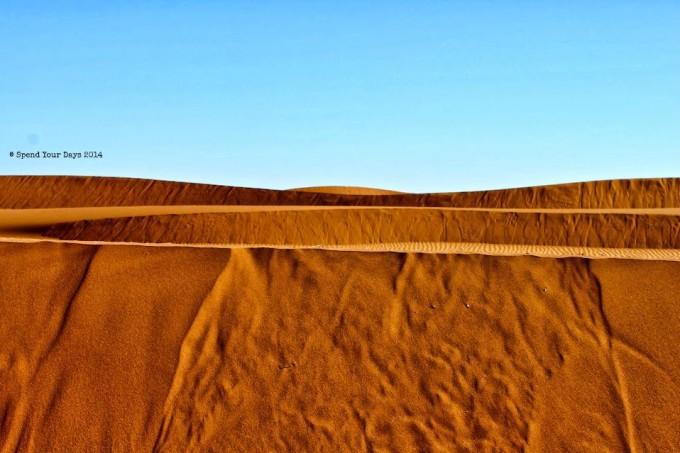 morocco sahara erg chigaga sand dune