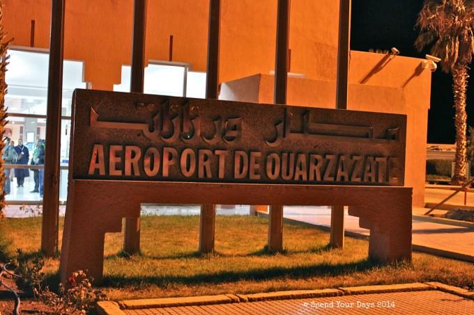 morocco ouarzazate airport