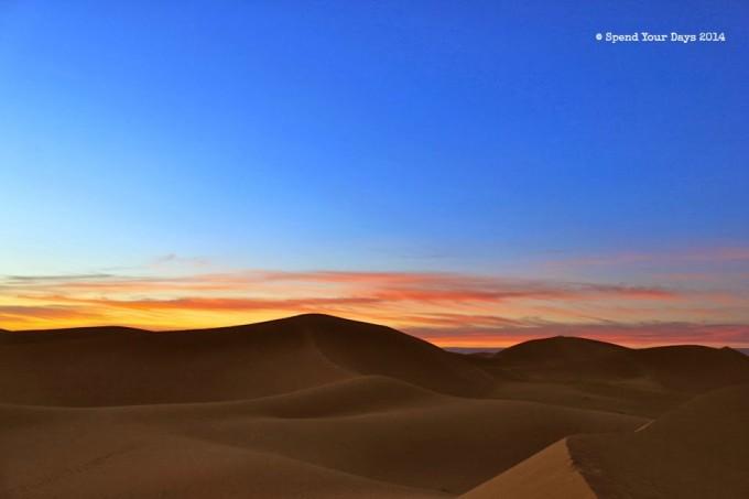 morocco sahara erg chigaga dune sunset