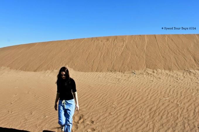 morocco sahara desert erg chigaga