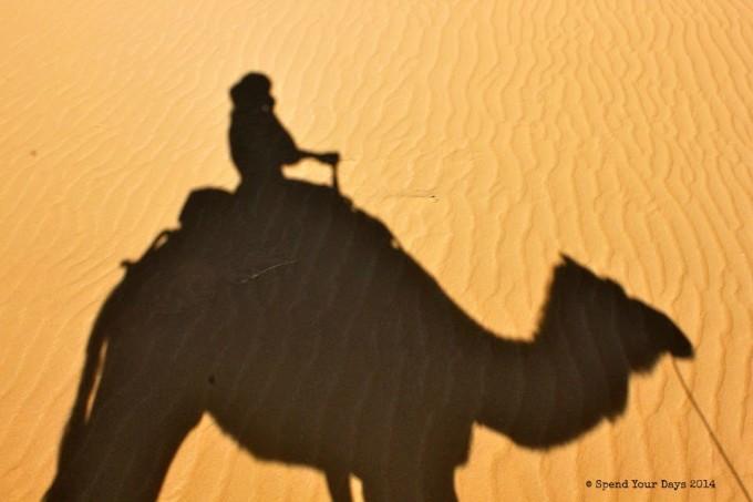 morocco sahara desert camel ride erg chigaga