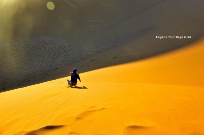 morocco erg chigaga dune sand boarding