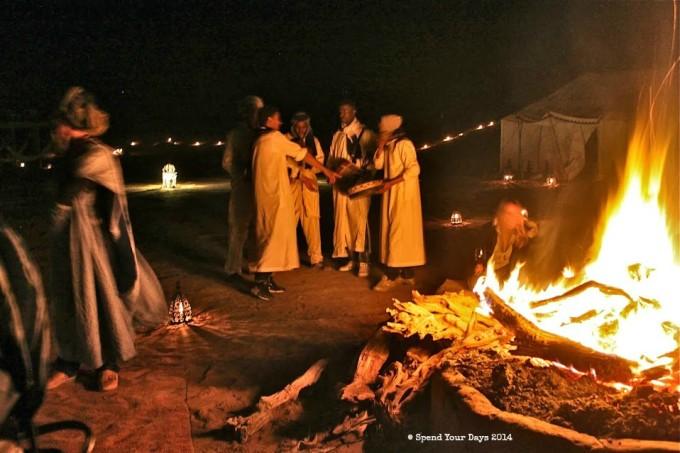 morocco sahara erg chigaga luxury desert camp