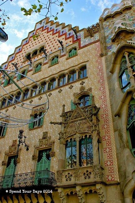 casa amatller barcelona spain