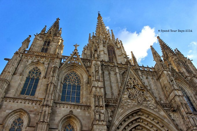 barri gotic barcelona spain