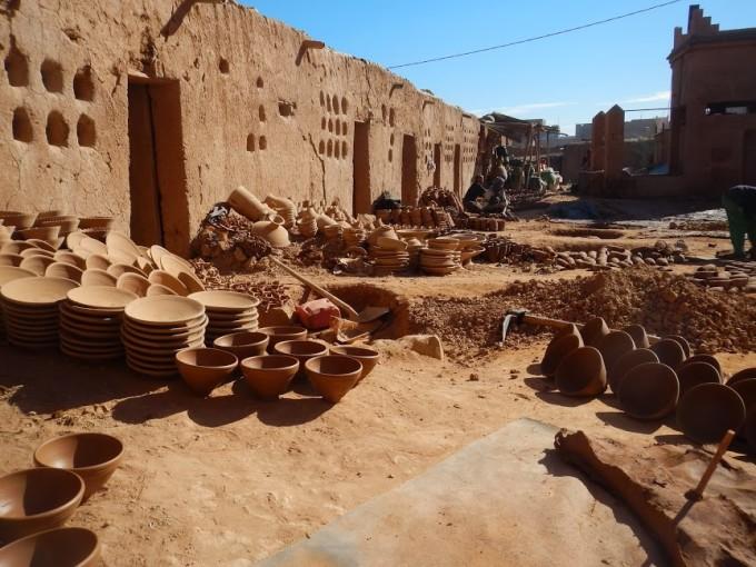 moroccan berber pottery