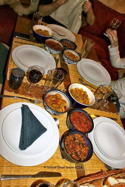 morocco marrakech dinner