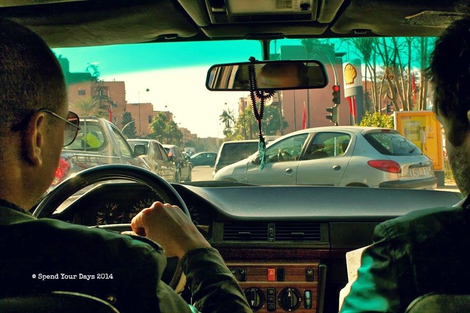 morocco marrakech taxi