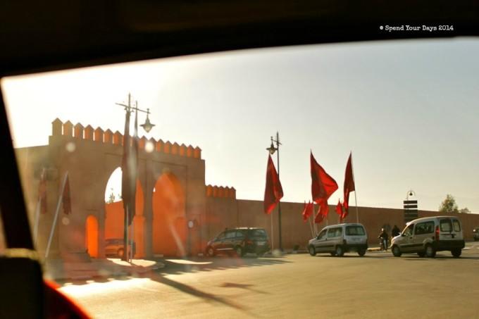 morocco marrakech medina wall