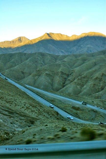 morocco high atlas mountains tizi n'test pass