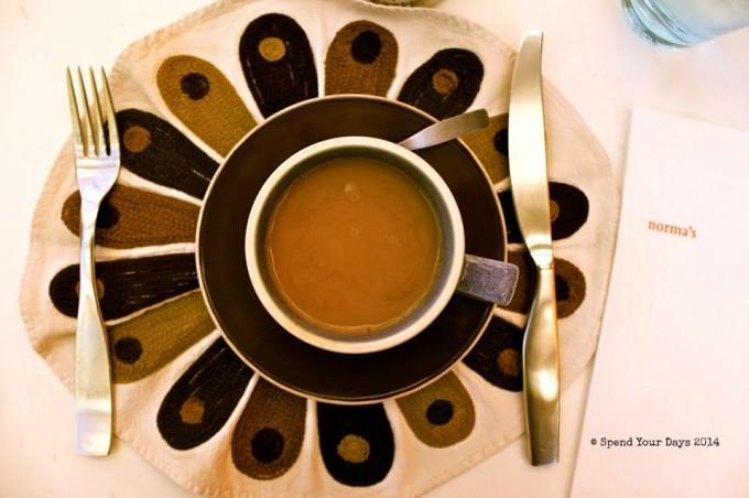 normas parker palm springs california coffee