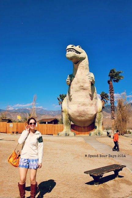 cabazon dinosaur trex california