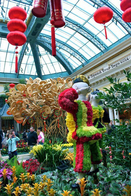 bellagio garden las vegas chinese new year