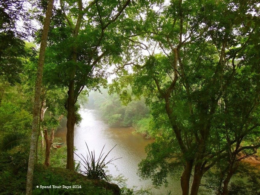 mystic river resort macal view