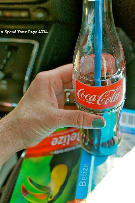 belize coca cola road trip