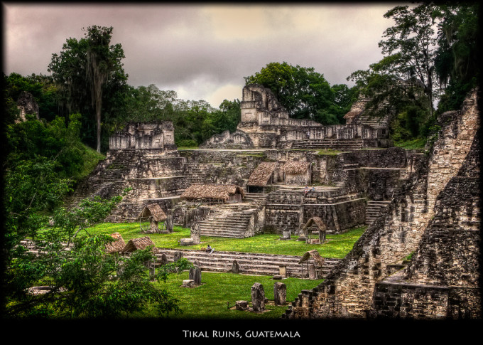 tikal guatemala maya ruins