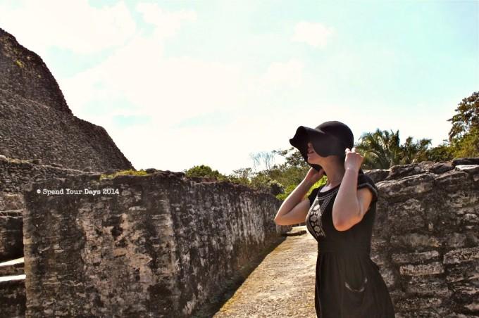 xunantunich belize el castillo mayan ruin