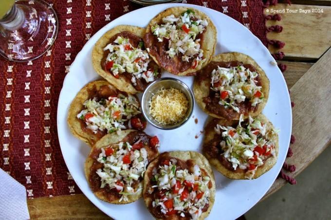 garnaches san ignacio belize tostadas