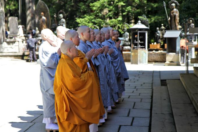 Koya japan monk