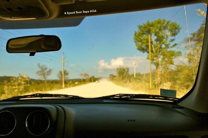 guatemala driving decal rental car