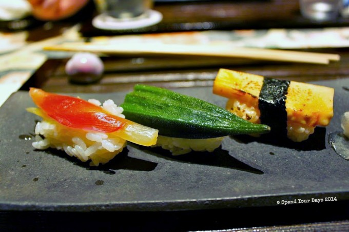 vegetarian kaiseki tokyo japan ginza nagamine