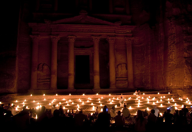 petra jordan night