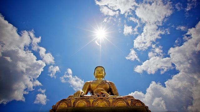 giant buddha thimpu bhutan
