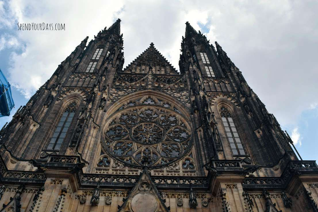 prague castle st vitus czech republic