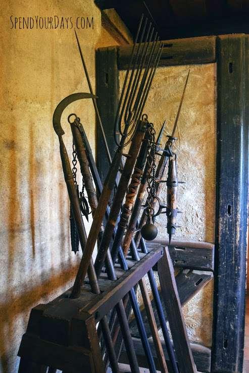 medieval weapon prague czech republic