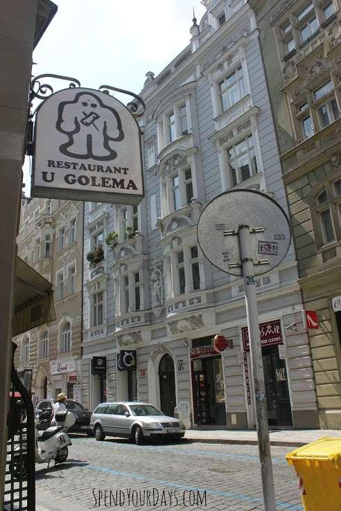 golem prague czech republic