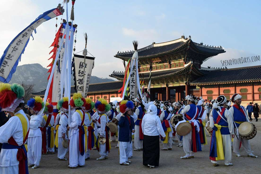 seoul south korea festival