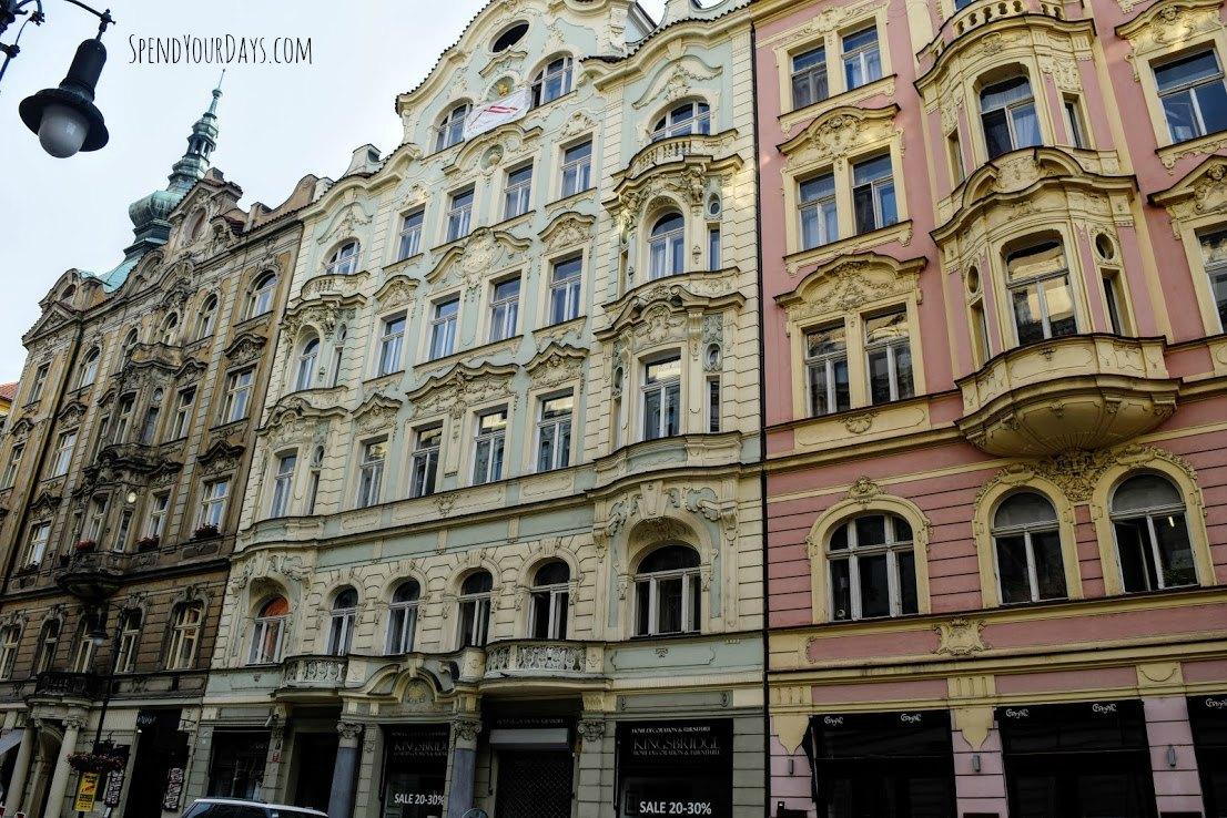 architecture prague czech republic